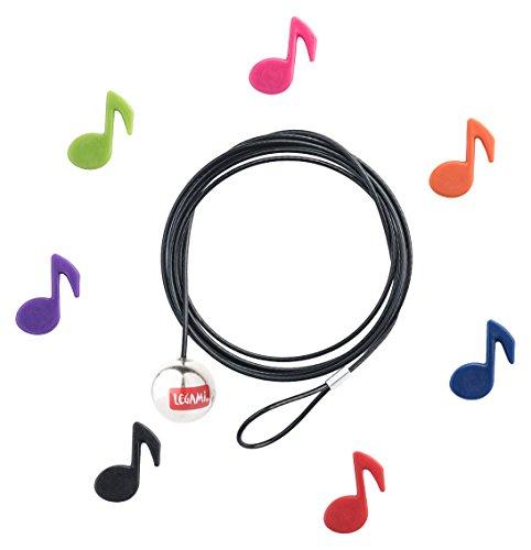 LEGAMI Bindungen cab0015Draht Magnetisch Musical Notes, mehrfarbig, 120x 0.03x 0.03cm