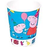Peppa Pig - Set de 8 vasos (Verbetena 5652223)