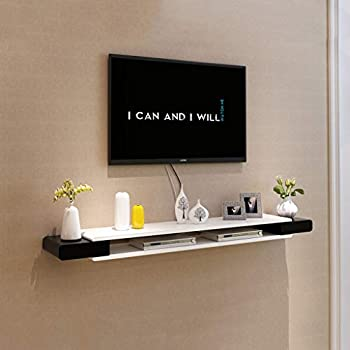 Sjysxm floating shelf wei tv schrank set top box regal Meuble tv accroche au mur