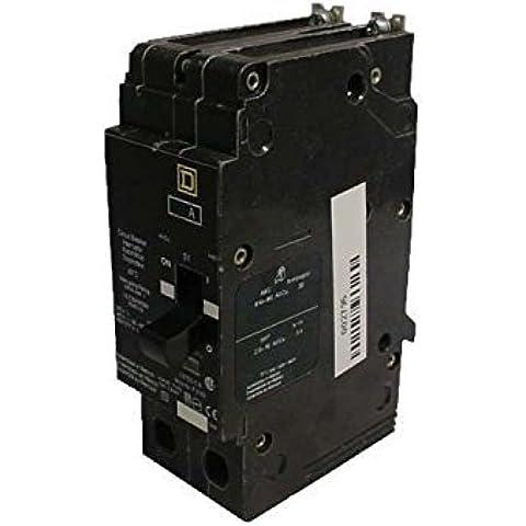 Square D EGB24020 2 POLE 20 AMP 480Y/277V 35KA ThermalMagnetic Circuit Breaker by Square D