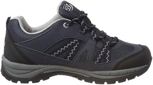 Bruetting Unisex-Erwachsene Fresno Trekking-& Wanderhalbschuhe Blau (Marine/Grau)