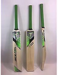 Pelotas de tenis bate de críquet 313, ligero, Toe vigilado, tamaño Senior