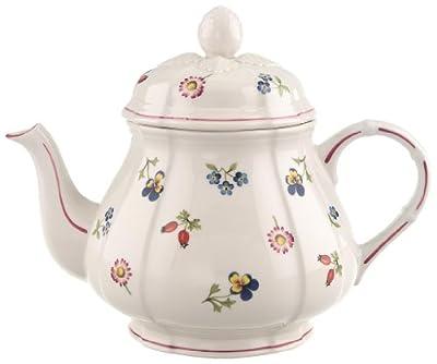 Villeroy & Boch Petite Fleur Théière, 1 l, Porcelaine Premium, Multicolore