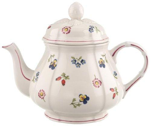 Villeroy & boch 10-2395-0460 petite fleur teiera, porcellana