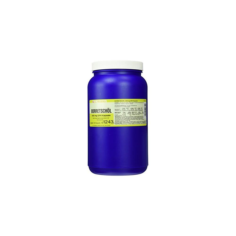 Gall Pharma Borretschl 500 Mg Gph Kapseln 1750 Stck