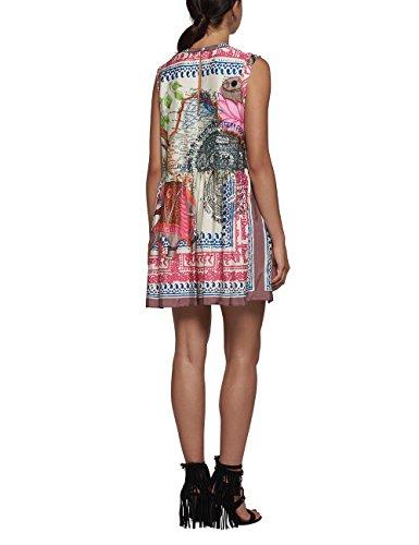 REPLAY, Vestito Donna Multicolore (Multicolour Print)