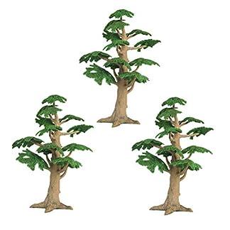 YeahiBaby-3-Stck-Kunststoff-Kiefer-Bume-Cupcake-Topper-Kunstbaum-Evergreen-Fairy-Garden-Ornaments-Pine