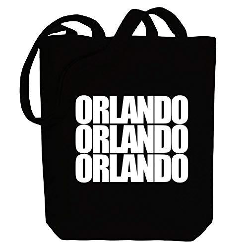 Idakoos Orlando Three Words Einkaufstaschen 10.5