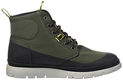 Palladium Herren Plsidr Ctd Mi M Hohe Sneaker Grün (verde Militare / Nero)