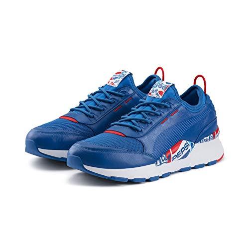 Puma Running Sneakers (Puma x Pepsi Max RS-0 Herren Sneaker Sport Casual Laufschuhe (43 EU, Blau))