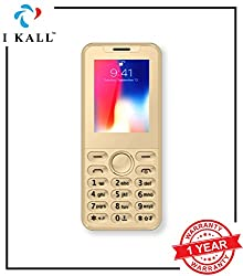 IKALL K33 New 2.4-inch Mobile with 1500 mAh Battery -(Golden)