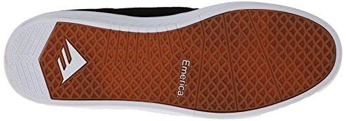 Emerica - The Figueroa, Scarpe Da Skateboard da uomo Bianco/nero/bianco