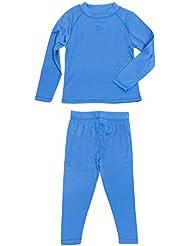 gregster Juego de Niños de Esquí, ropa interior térmica de manga larga