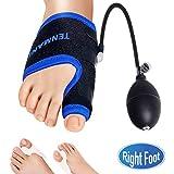 TENMAND Adjustable Orthopedic Bunion Corrector Splints Toe Straightener/R