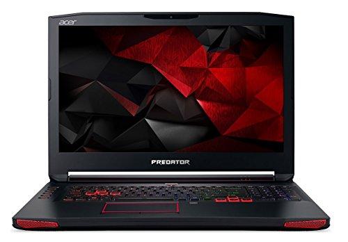 Acer Predator G9-793 17.3-inch Laptop (Core i7-7700HQ Processor/16GB RAM/256 GB SSD/2TB HDD/Elinux/Windows 10/MSO/VR Ready/NVIDIA GeForce GTX 1060  6GB GDDR5 VRAM), Black image