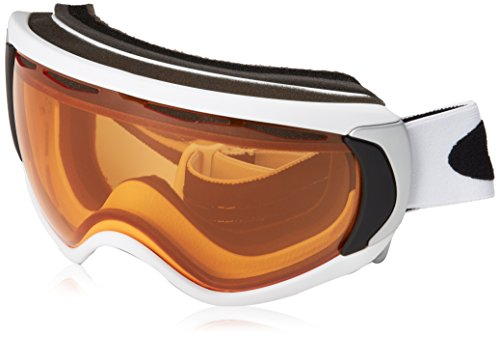 Oakley Unisex-Erwachsene Canopy Skibrille/snowboardbrille, Matte White, EL. Adjustable