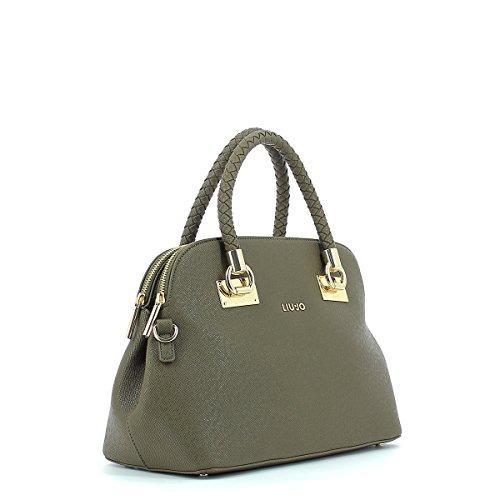 LIU JO ANNA SHOPPING BAG N67083E0087 green_olive, gruen