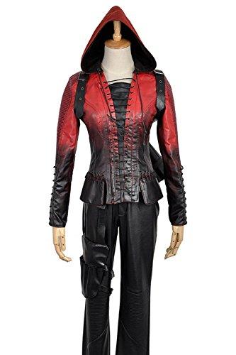 Green Arrow Season 4Thea Queen battleframe Cosplay Kostüm Custom Made Gr. Weiblich S, as (Made Leder Kostüme Custom)