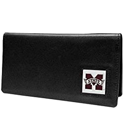 NCAA Mississippi State Bulldogs  Leather Checkbook Cover