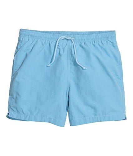 Da Uomo Ex H&M Spiaggia Estiva Pantaloni I Pantaloncini Da Bagno Abbigliamento sportivo Tavola Da Surf Blu
