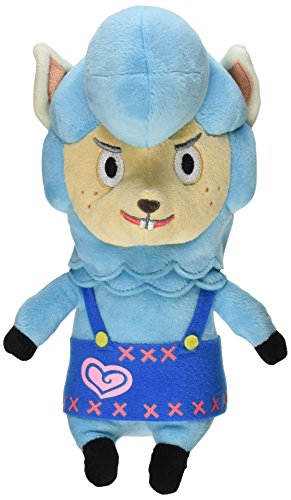 Nintendo Animal Crossing - Cyrus Plush - Blue Alpaca - 20cm 8""