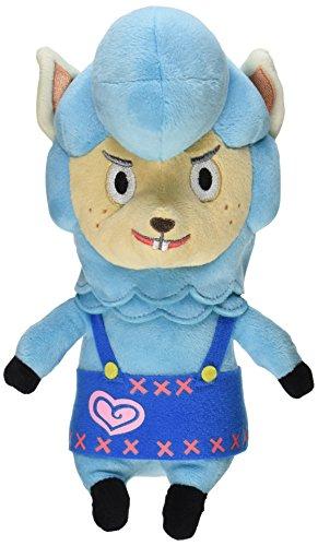 "Nintendo Animal Crossing - Cyrus Plush - Blue Alpaca - 20cm 8"""