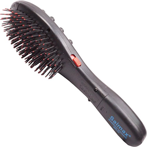 7 in 1 Hair massager Magnetic Acupressure Head Hair Brush Vibrator  available at amazon for Rs.377