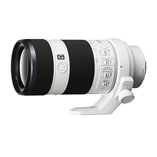 Sony SEL70200G - Objetivo OSS montura E para Sony/Minolta (distancia focal 70-200mm, apertura f/4, estabilizador óptico) color negro