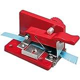 Rayher Hobby Quilling Fringer paperolle pratique – materiel quilling pour faire des petites franges sur les bandes de papier de 6 à 9 mm – idéal pour les activités manuelles – couleur : rouge