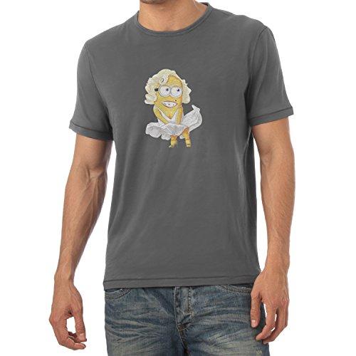 TEXLAB - Banana Monroe - Herren T-Shirt Grau