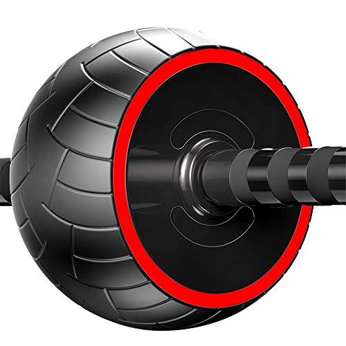 Zs-SportGoods Fitnessgeräte Ab Wheel Roller Core Trainingsrolle Bauchmuskel-Trainingsgerät Übung und Fitness-Rad zu Hause mit Knieschoner und Anti-Rutsch-Griffen Sporttraining