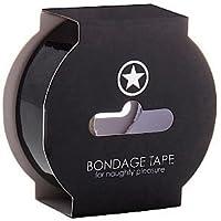 OUCH Non Sticky Cinta para Bondage Negro 17.5M