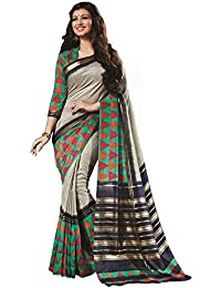 Rajeshwar Fashion Women's Raw Silk Raw Silk Saree (1004 Bhagalpuri Raju_Multi-Coloured)