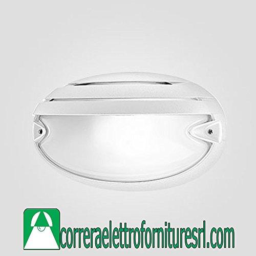 Prisma 5706 925990 Luminaires Extérieur CHIP Ov.25 Gril E27 60 W Blanc