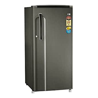 LG 190 L 5 Star Direct-Cool Single Door Refrigerator (GL-205KMG5, Neo Inox)