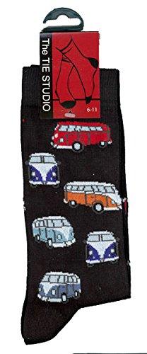 Preisvergleich Produktbild Socken mit VW-Camper