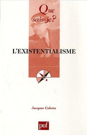 L'existentialisme