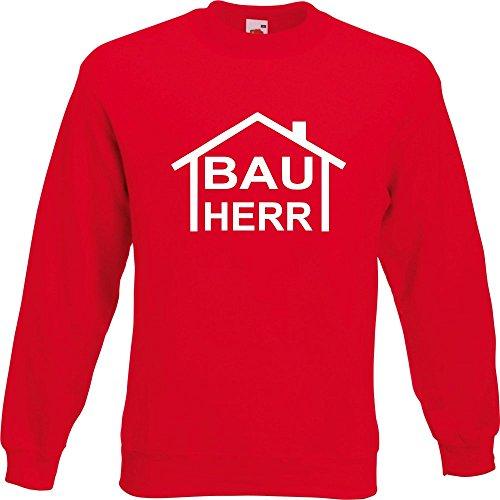 Pullover - Bauherr Rot