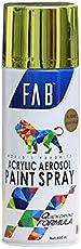 FAB Aerosol Spray Paint (400 ml, 3049-Bright Gold)