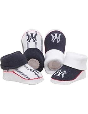 Majestic Yankees de Nueva York calcetines botines del bebé - Marina