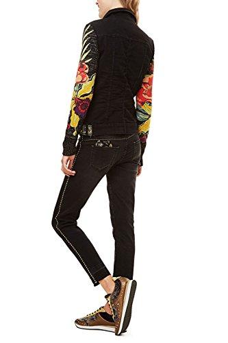 Desigual jeansjacke schwarz