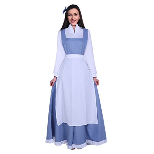 Pettigirl Damen Kostüm Prinzessin Frauen Cosplay Schick Kleid Halloween Party M