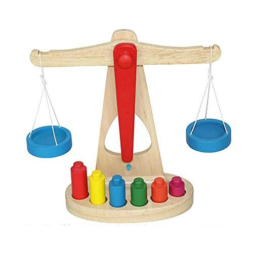 Jouets d'éveil pour enfants Équilibre en bois groupe d'équilibre, matériel didactique pour les enfants, jardin d'enfants Équitation précoce, jouets pour enfants en bas âge 3 ans et plus Casse-tête jou