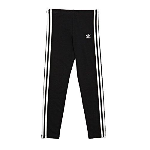 Adidas Originals Legging Mixte Enfant, Noir, Blanc,( 128_7-8 Ans)