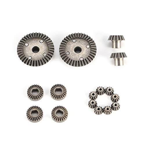 VCB 12T 15T 24T 38T Diff.Main Metal Gear Parts for WLtoys A949 A959 1/18 RC Car - Gray -
