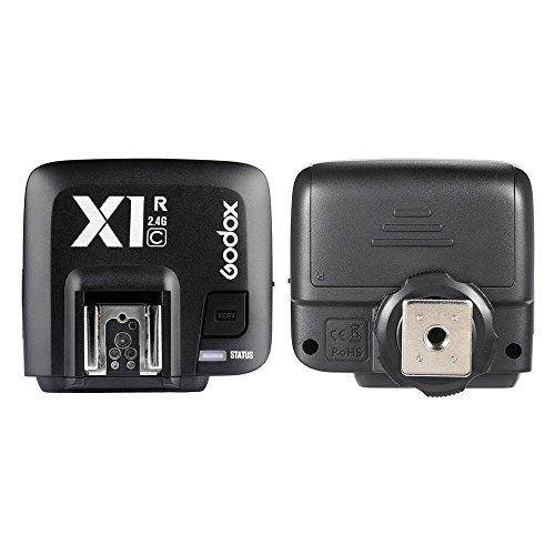 GODOX X1R-C 32 canaux TTL 1/8000s déclencheur sans fil récepteur Flash à distance pour Canon EOS appareils photo GODOX X1T-C émetteur