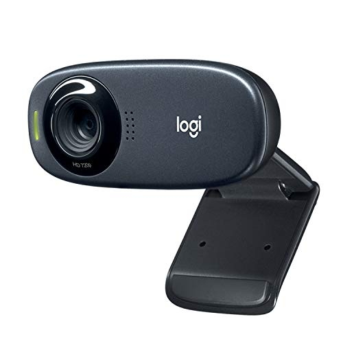 Logitech C310 HD Webcam - 720p, schwarz