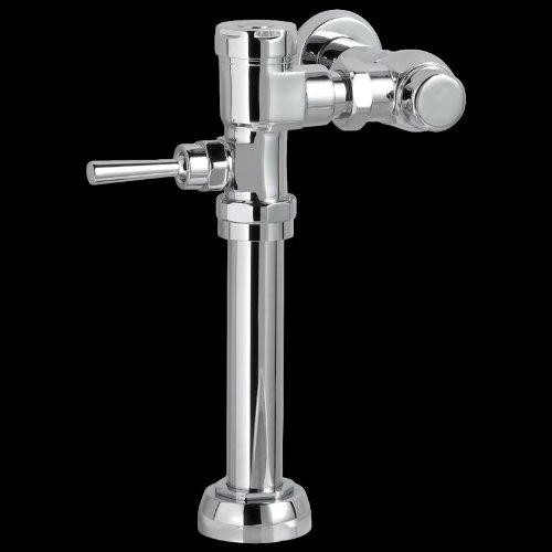 American Standard 6047.162.002ausgesetzt manuell 1–1/2Top Spud 1,6GPF WC-Schüssel-Druckspüler, chrom poliert -