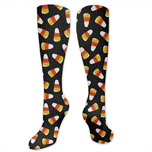 ndy Corn Frauen & Männer Socken Kleid Socken Länge 19.7in / Breite 3.4in Polyester Material Kniestrümpfe Mädchen Socken ()