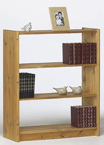 Steens AXEL Bücherregal, Kiefernholz mit 2Regalböden, gelaugtes Ölfinish